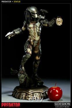 Sideshow Exclusive Predator Polystone Statue Maquette Alien Avp Premium Figure