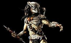 Sideshow Exclusive Wolf Predator Maquette Statue Avp Alien Vs Predator Nib Rare