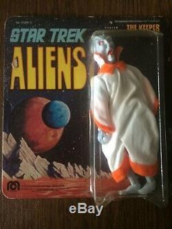 Star Trek Aliens Vintage Mego The Keeper 1975 TOS MOC On Original Cardback