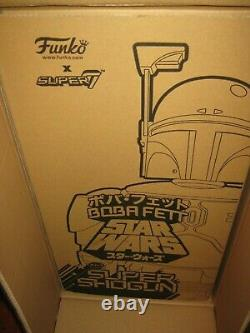 Star Wars Boba Fett Empire Strikes Back Version 24-Inch Shogun Vinyl Figure