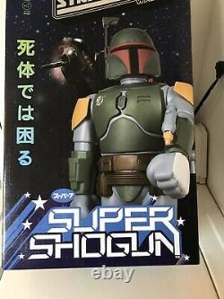 Star Wars Boba Fett Empire Version 24 Shogun Warriors Jumbo Machinder Super 7