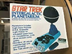 The Grail Star Trek 1976 Mego INTERGALACTIC PLANETARIUM MIB