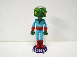 The Real Alien Collection 1999 Area 51 Roswell Grey Alien Set Of 11 Figs (am697)