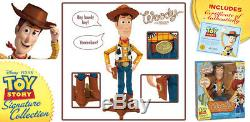 Thinkway TOY STORY SIGNATURE COLLECTION WOODY JESSIE BULLSEYE BUZZ ALIENS LOT 5
