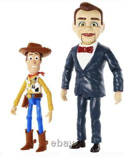 Toy Story 4 Benson And Woody Action Figures 2-Pack Exclusive Pixar Disney Toy