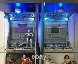 Unpainted Industrial Diorama Full Set. Neca, Mezco, Marvel Legends, Black Series