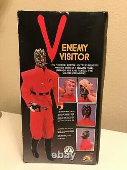 V Enemy Visitor Action Figure 12 Doll NIB Sealed Vintage figure