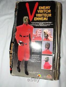 V Enemy Visitor Action Figure Doll From The V TV Show Warner Bros