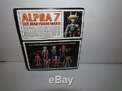 VINTAGE COLORFORM ALIEN ALPHA 7 THE MAN FROM MARS C. 1968 STILL ON CARD