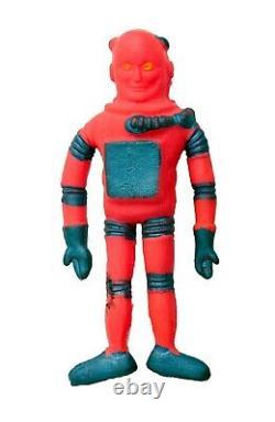 Vintage 1960 Colorforms Aliens Outer Space Men ELECTRON Mini Action Figure Rare