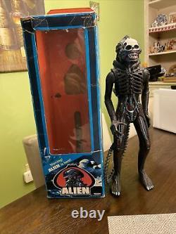 Vintage 1979 Kenner ALIEN Big Chap Xenomorph Figure With Original Box Rare