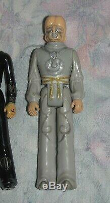 Vintage 1979 Mego 3 3/4 Star Trek Motion Picture Aliens Figure lot of 4