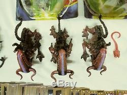 Vintage 1992 Kenner Aliens Lot Sealed Complete Loose + Dark Horse Alien 3 Cards