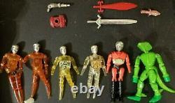Vintage Mego Micronauts Collection Lot Parts Pieces