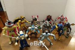 Vintage Mighty Morphin Power Rangers Evil Space Aliens 8 lot of 11 Loose Nice