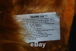 Vtg 1987 Coleco Talking Alf Doll The Storytelling Alien Toy New In Box & Tapes