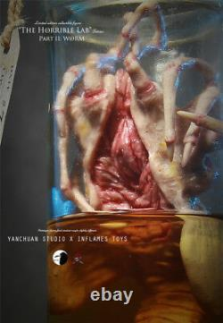 X Inflames Toys The Horrible Lab Series WORM Alien Facehugger In Stock